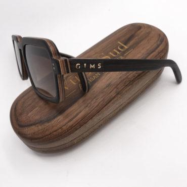 VuDuSud - de nouvelles lunettes en bois pour Gims